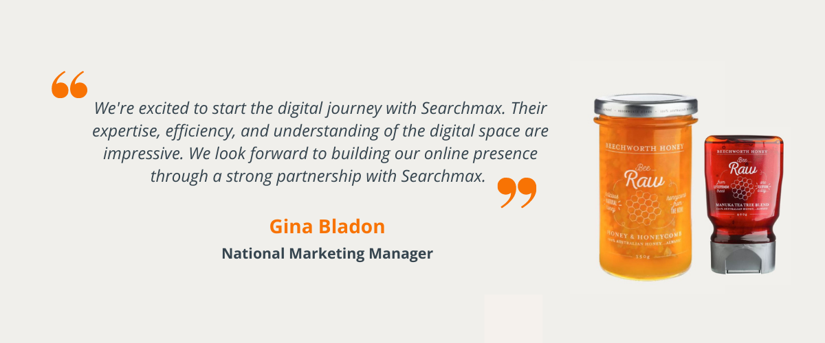 Gina Bladon, National Marketing Manager's quote.